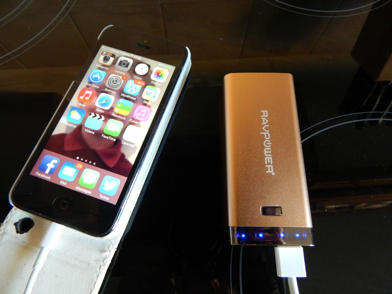RAVPower Luster 6000mAh External Battery Charger