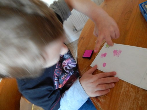 Fingerprint Friends fun with Meadow Kids
