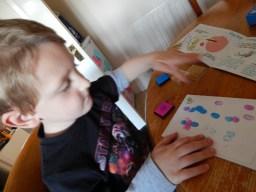 Fingerprint Friends fun with Meadow Kids