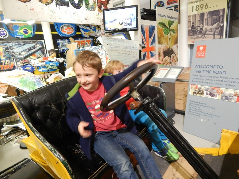 Heritage Motor Centre with friends