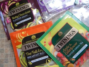 Loose Leaf Tea Pyramids from Twinings