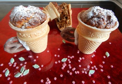 Edible teacups with a Christmas twist
