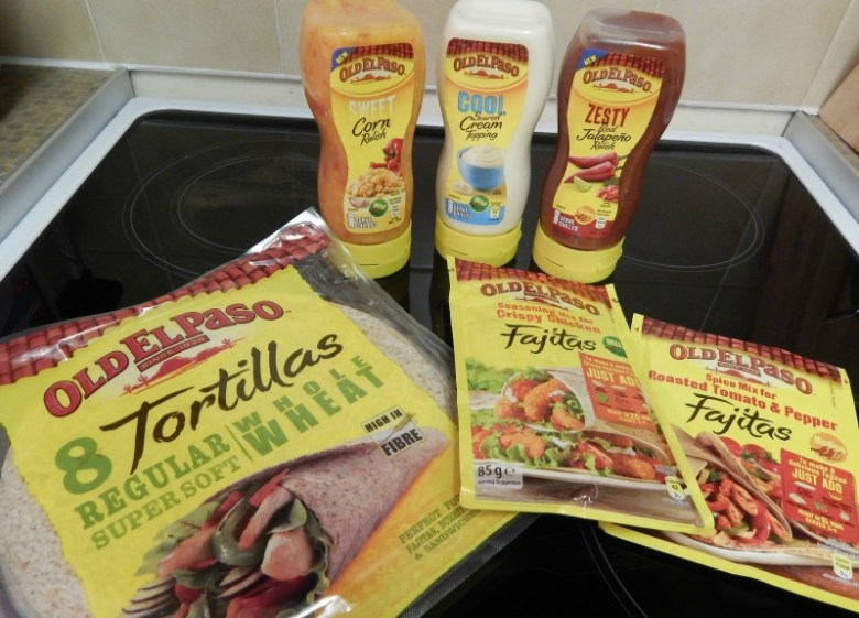 Fajita time with Old El Paso