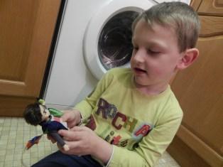 Finn the Kite Flyer doll