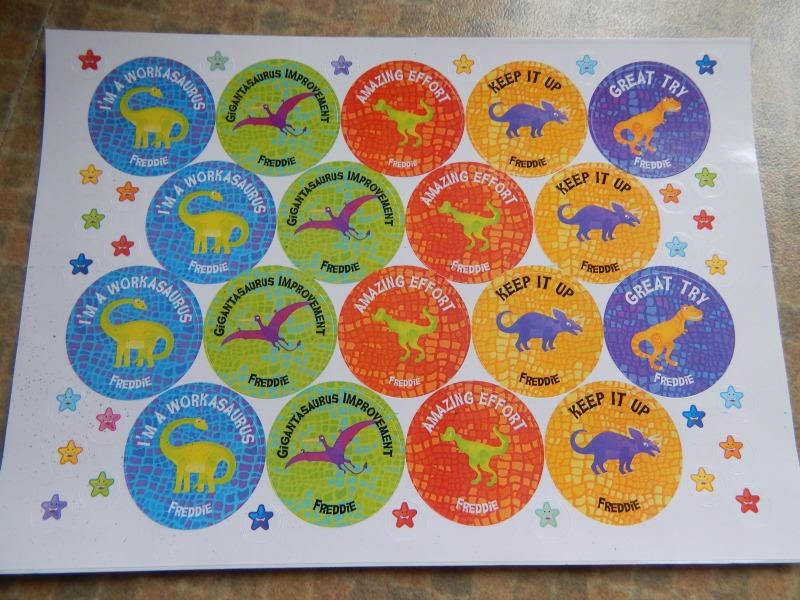 Rewarding Monkey with School Stickers