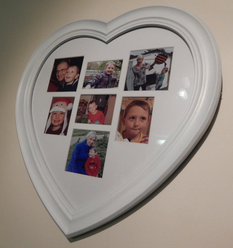 Framed with love from Wilko