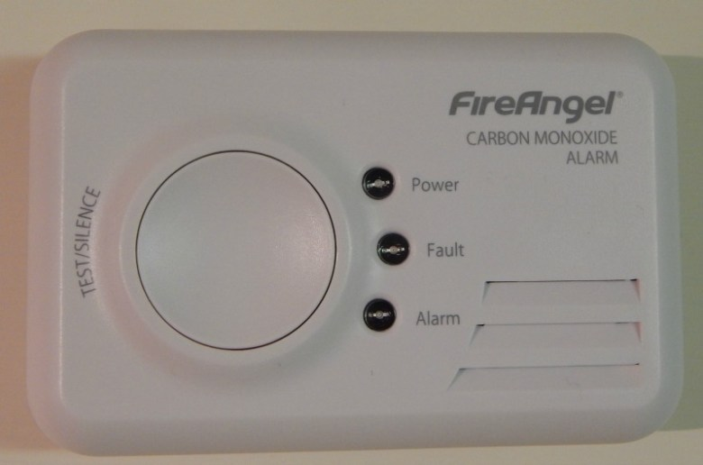 Keeping safe with a Carbon Monoxide detector