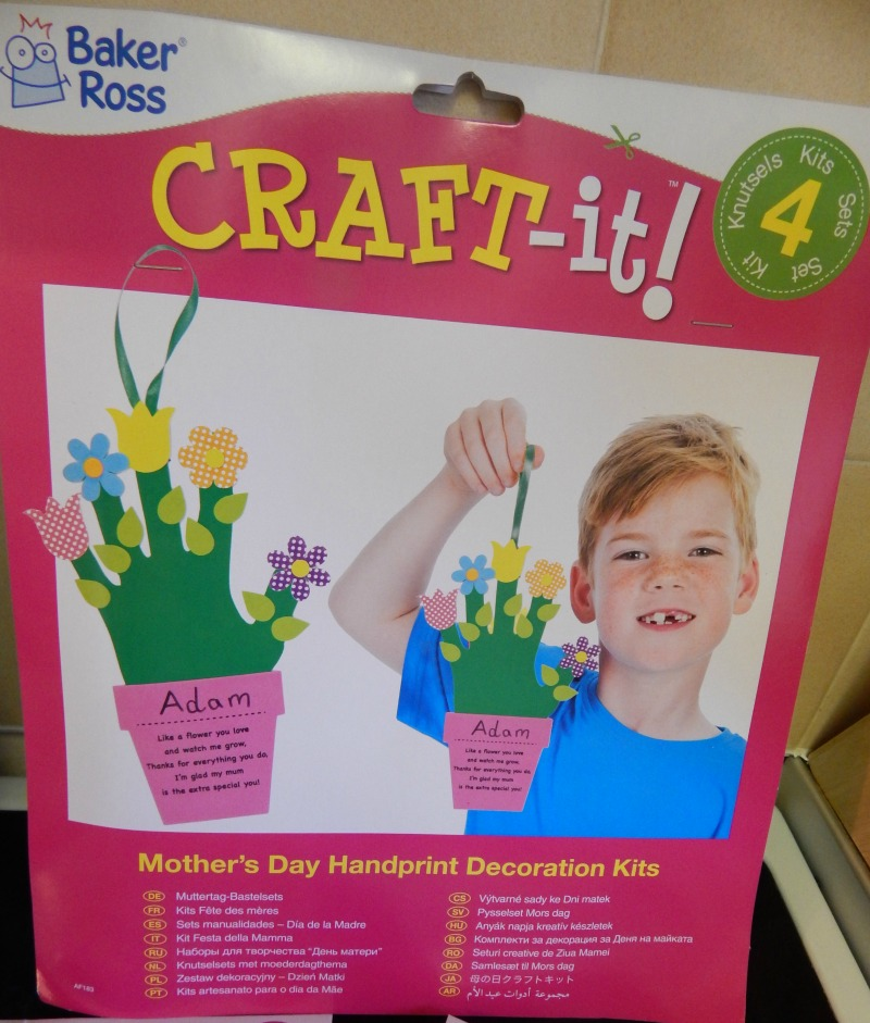 Spring and Mothers Day Crafts from Baker Ross