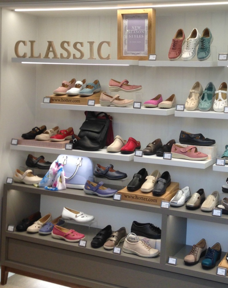 Comfort and Style from Hotter shoes