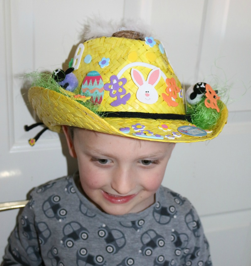 Decorating an Easter Stetson