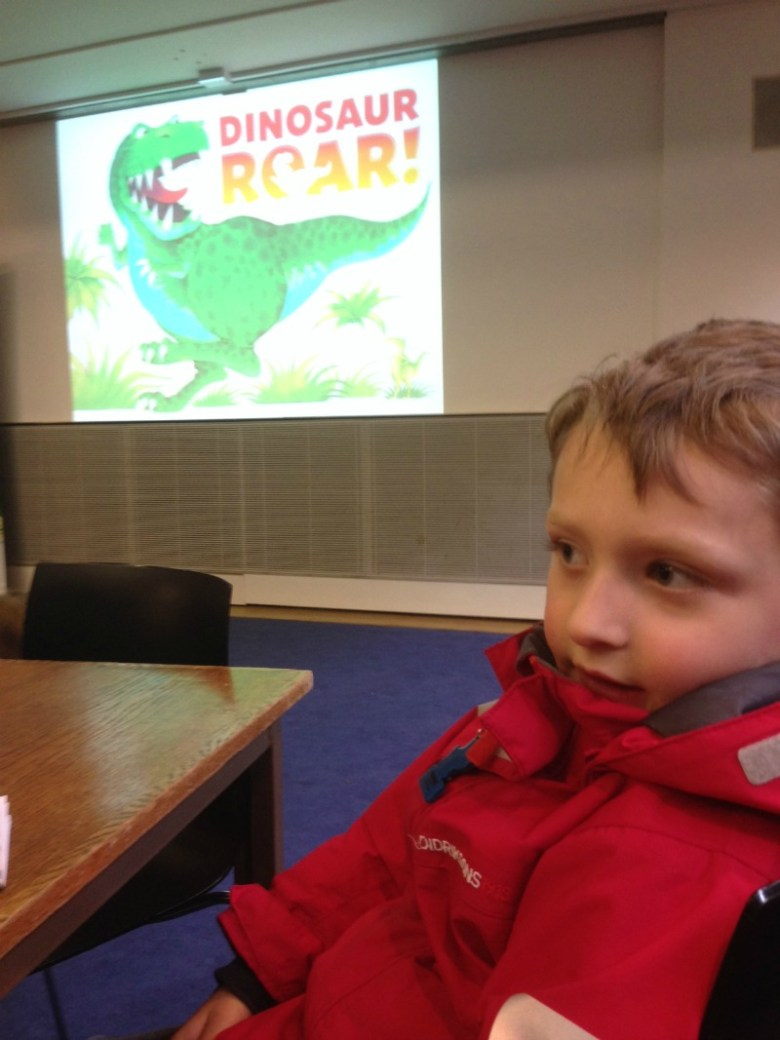 Dinosaur Roar at the Oxford Literary Festival