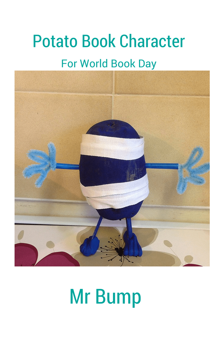 Potato Book Character for #WBD2015
