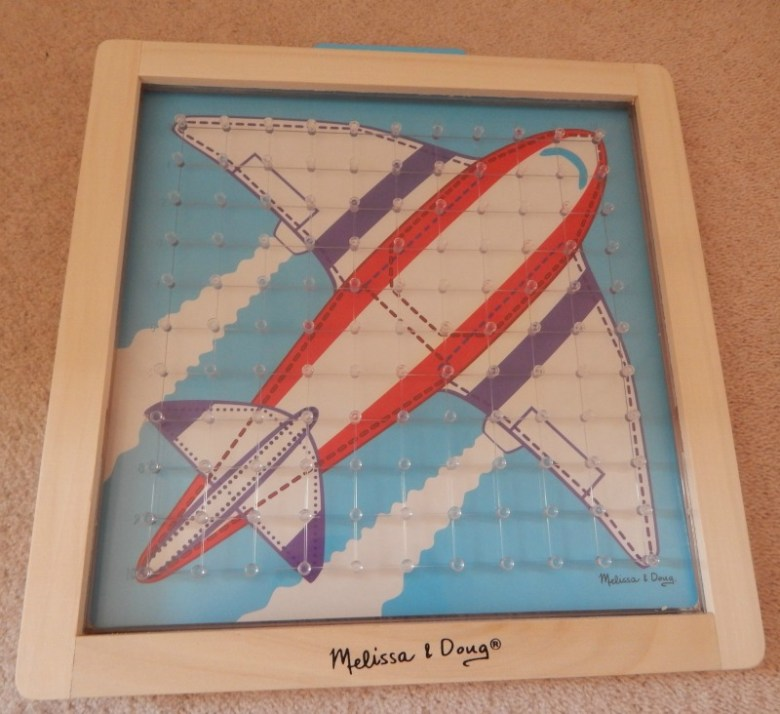 Stretch and Match Geoboard