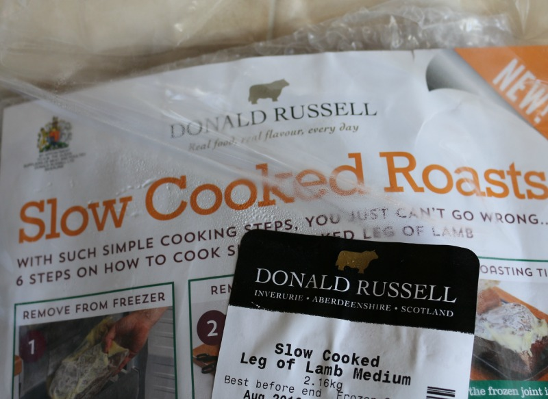 Cooking made easy with Donald Russell