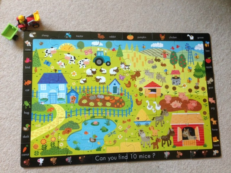 Farm Jigsaw and Sticker Book