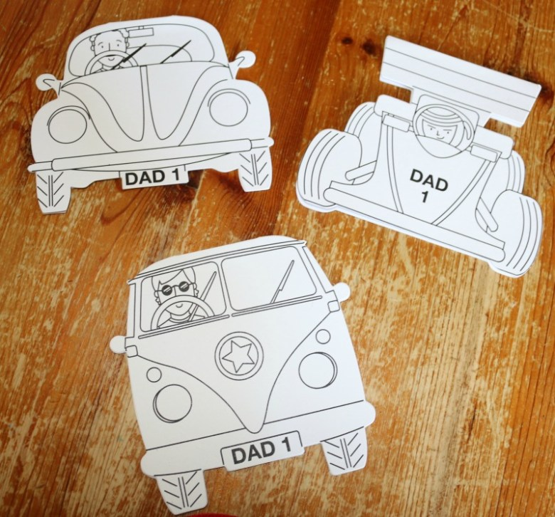 Fathers Day crafts from Baker Ross
