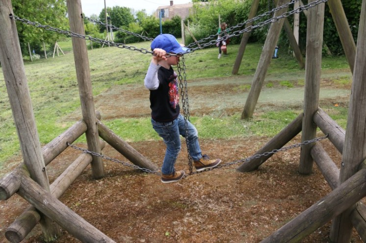 Having fun at Avebury