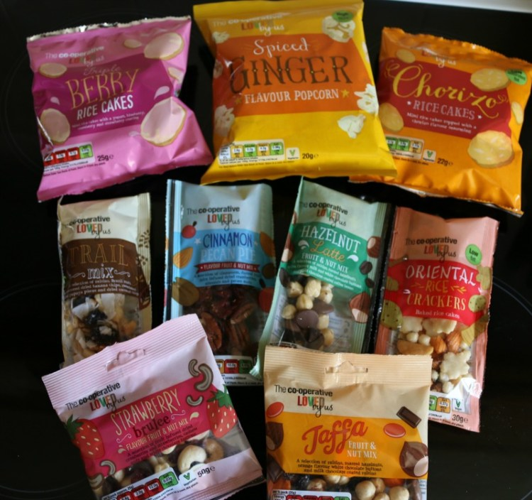 Tasty snacks from The Co-operative
