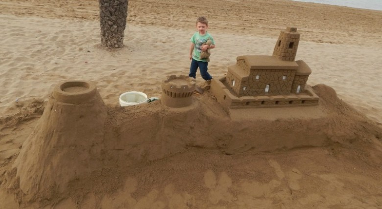 The Alphabet Photography Project S is for Sandcastle