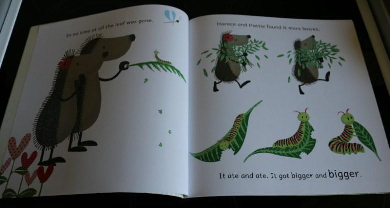 Hedgehugs Horace and Hattiepillar