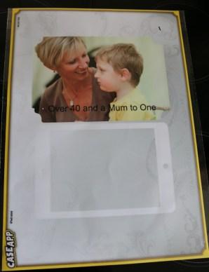 CaseApp iPad mini skin