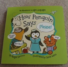 First foreign language word board books