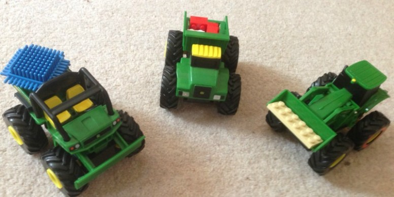 John Deere Monster Treads Mini Pullbacks