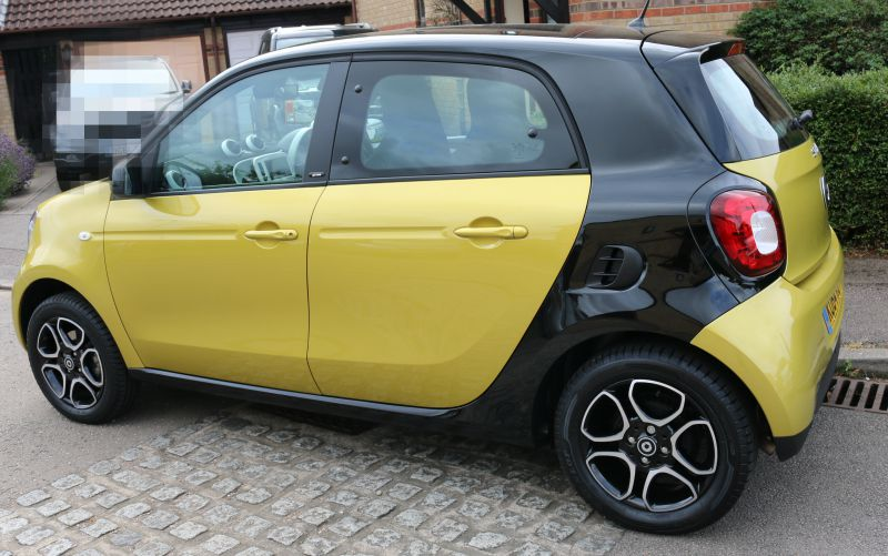 Going on an adventure in a Smart ForFour