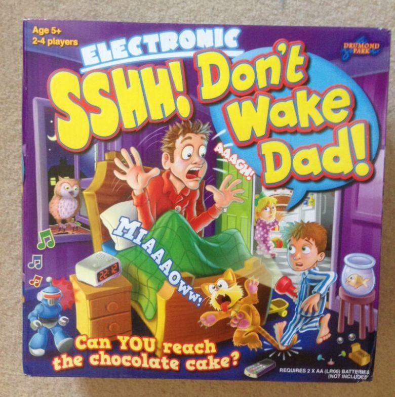 Sshh! Don't Wake Dad