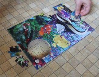 Jumbo Games Disney Pixar 4-in-1 Jigsaw Puzzles