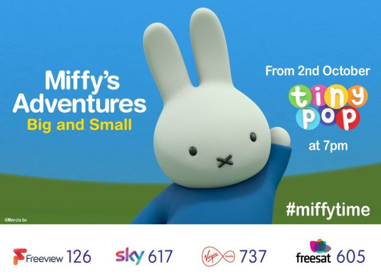 Miffy's Adventures Big and Small and Sensory Toy giveaway