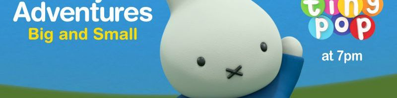 Miffy's Adventures Big and Small and Interactive Toy giveaway