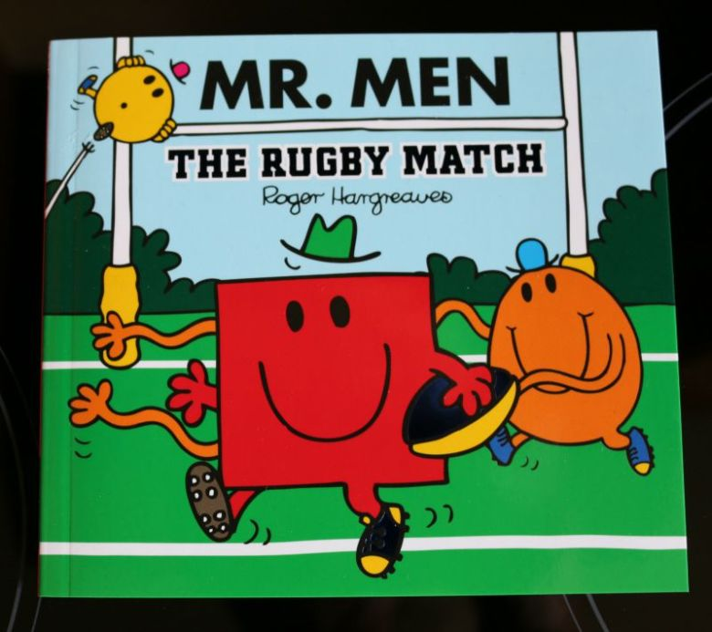 Mr Men The Rugby Match