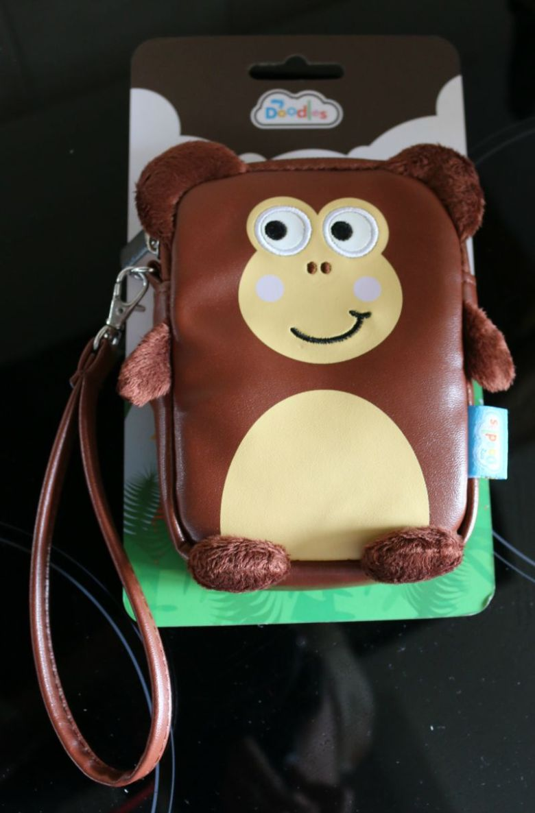My Doodles Monkey Camera Case