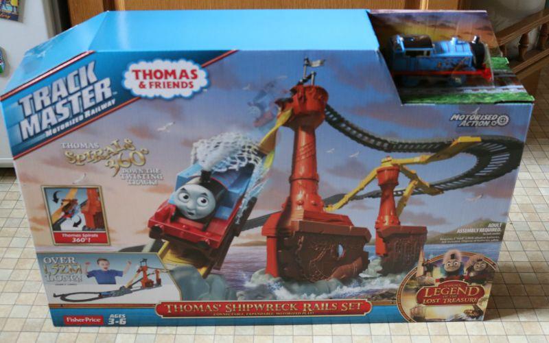 Thomas Friends Trackmaster Thomas Shipwreck Rails Set Over 40