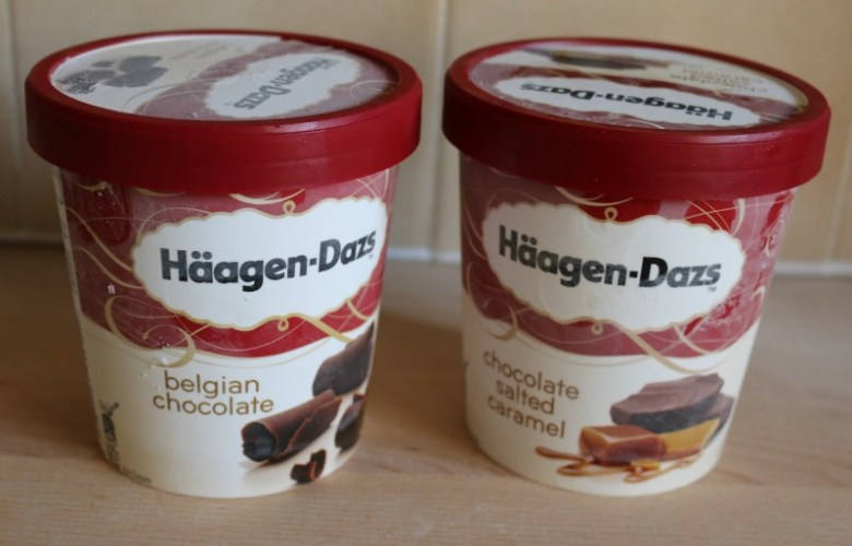 Chocolate delights from Haagen Dazs