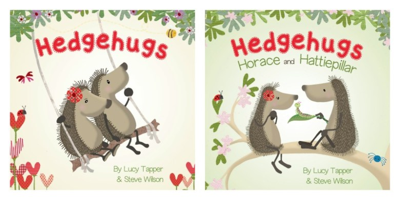 Hedgehugs Board Book set giveaway