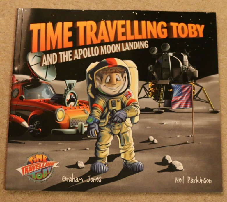 Time Travelling Toby and the Apollo Moon Landing