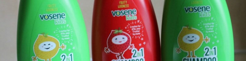Vosene Kids Fruity Goodness range