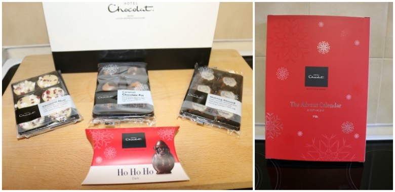 Christmas chocolates delights from Hotel Chocolat