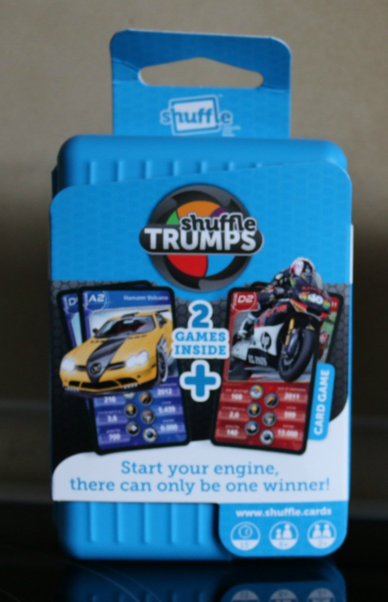Junior Monopoly and Trumps Cars & Bikes from Shuffle