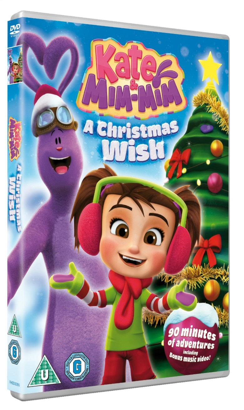 Kate & Mim-Mim - A Christmas Wish DVD