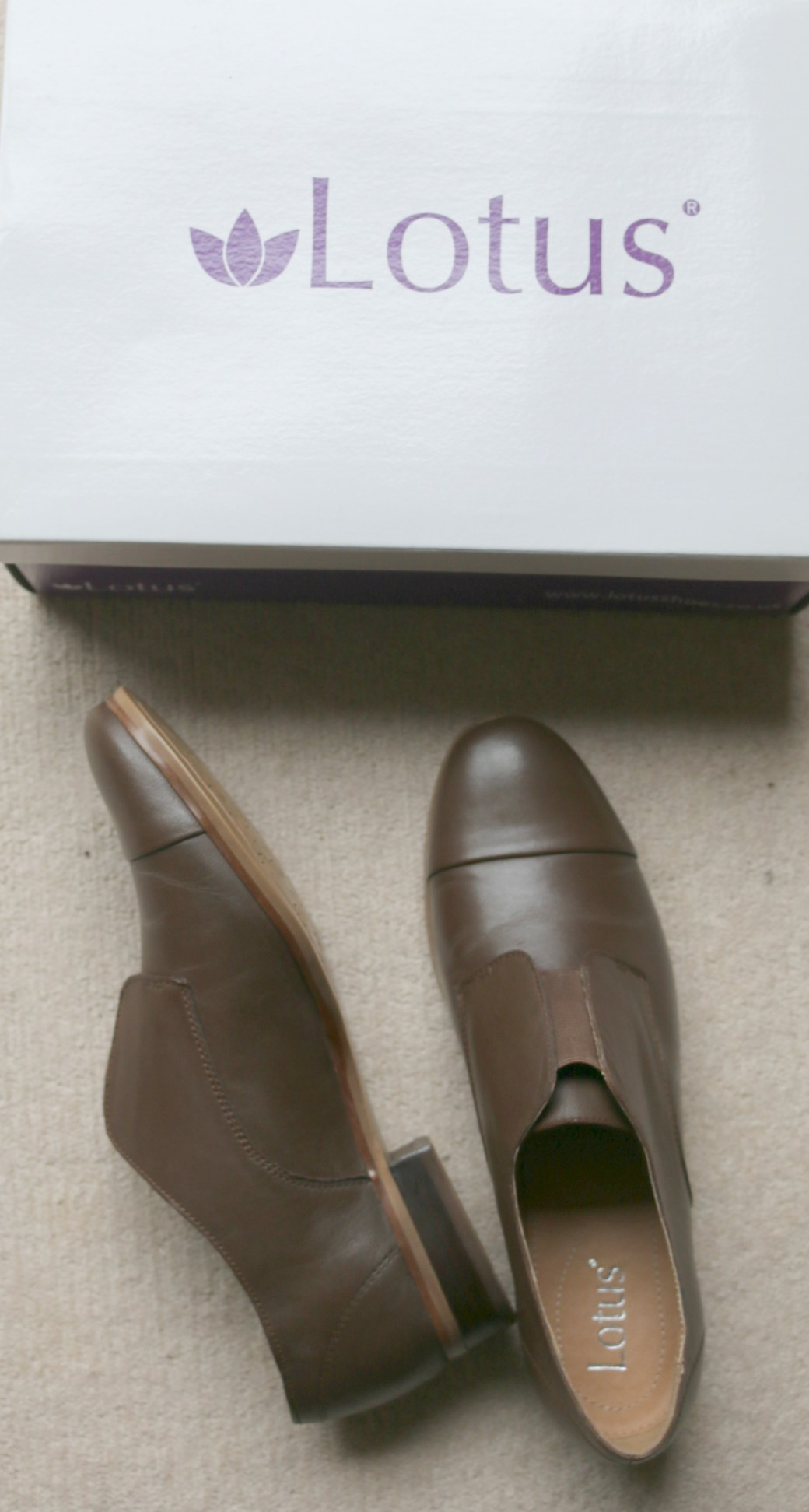 Lotus Drake flat shoes from House of Fraser