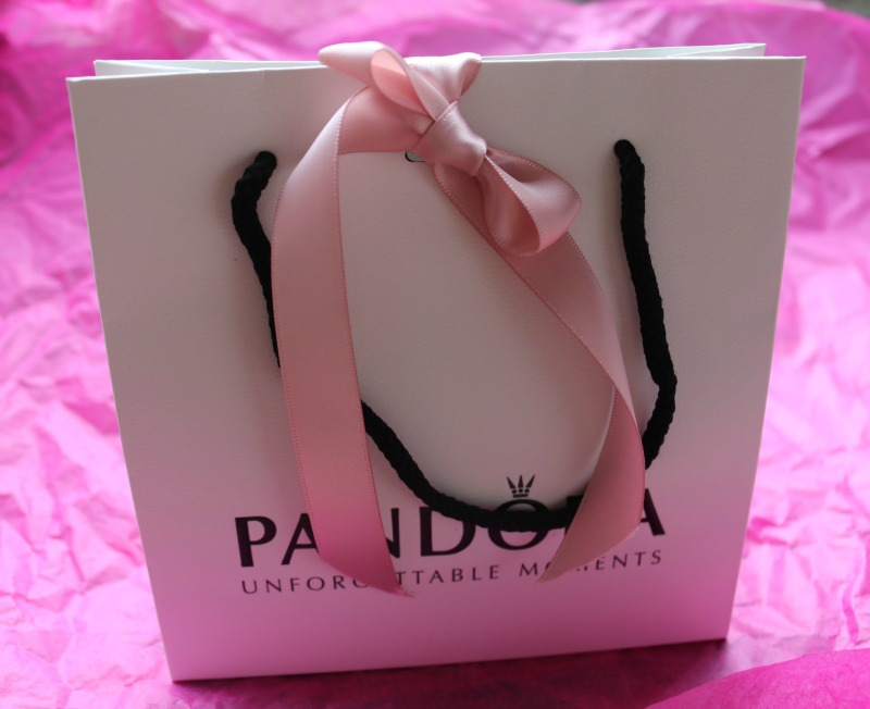 Adding to my Pandora bracelet with House of Fraser