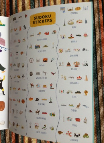 Big City Sticker Book