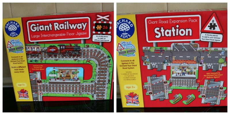 Giant Railway and Station sets from Orchard Toys