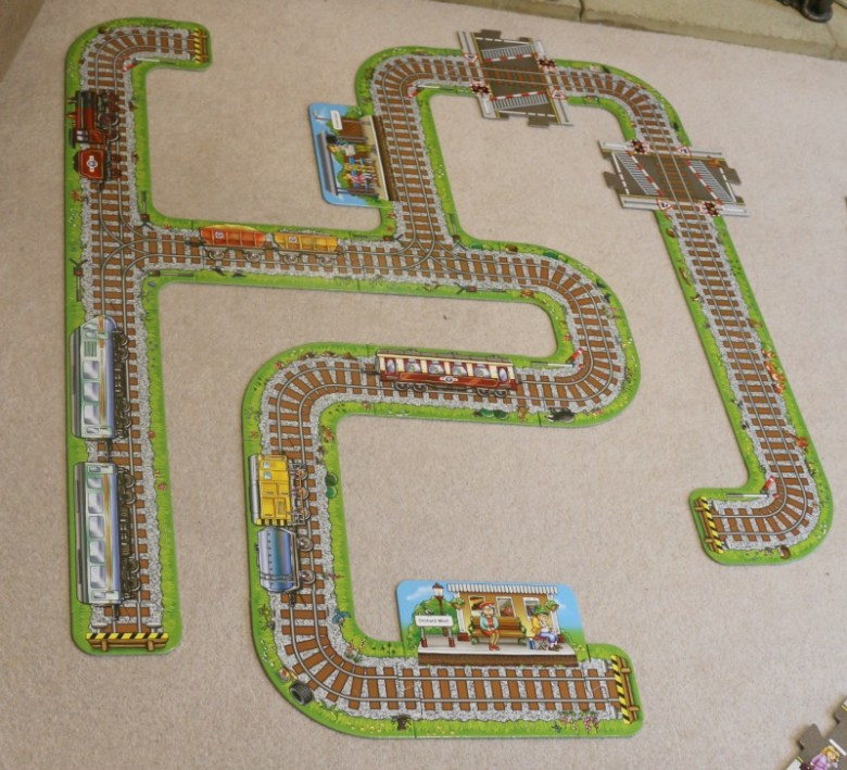 Giant Railway from Orchard Toys