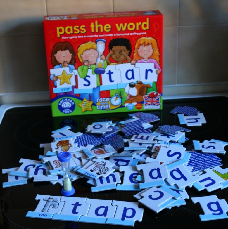 Spelling game from Orchard Toys