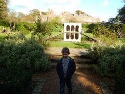 Walmer Castle formal garden