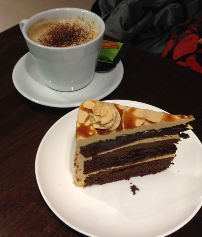 Coffee and Cake at Boswells Tea Room